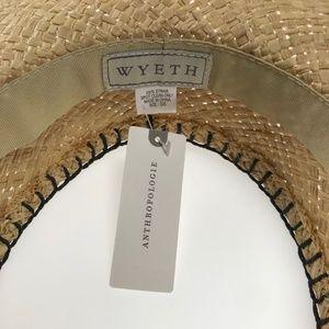 6600a204cf343 Anthropologie Accessories - Anthropologie Wyeth Halo Brim Straw Hat